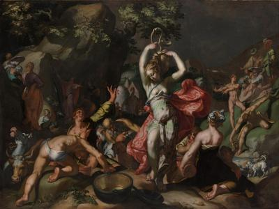 Moses Striking the Rock, 1596