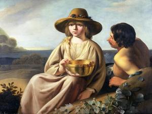 Shepherd and Shepherdess by Abraham Bloemaert