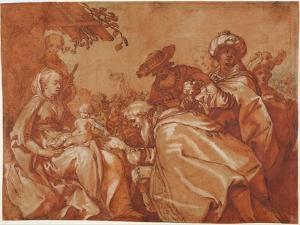 The Adoration of the Magi, 1624 by Abraham Bloemaert