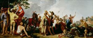 The Coronation of Alexander the Great (356-323 BC) by Abraham Bloemaert
