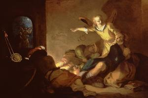 The Liberation of St. Peter by Abraham Bloemaert