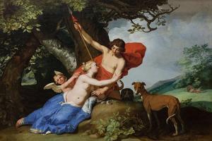 Venus and Adonis, 1632 by Abraham Bloemaert