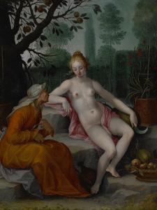 Vertumnus and Pomona, C. 1605 by Abraham Bloemaert