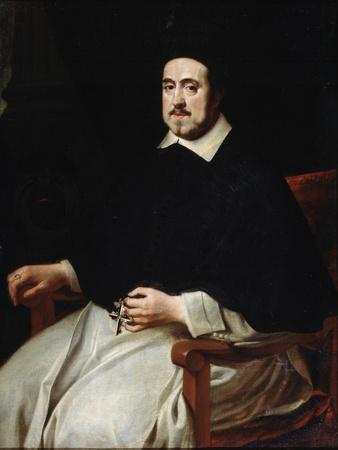 Portrait of the Bishop of Antwerp Ambrosius Cappelus, 17th Century
