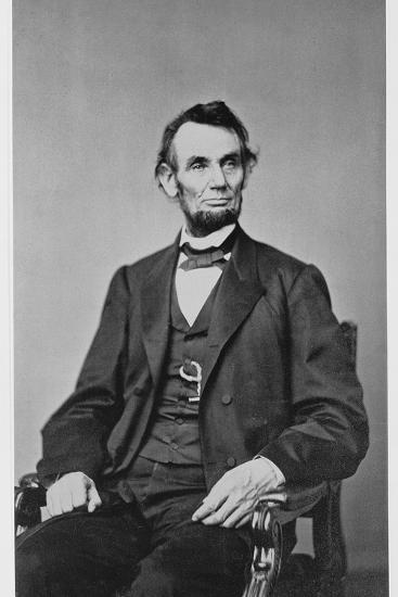 Abraham Lincoln, 16th President of the United States, 1860s-Unknown-Photographic Print
