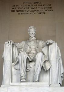 Abraham Lincoln (1809-1865). American Politician