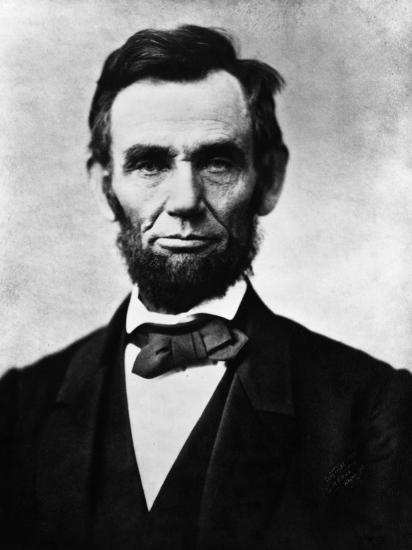 Abraham Lincoln, 1863-Alexander Gardner-Photo