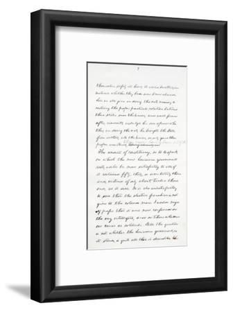 Autograph Manuscript of Lincoln's Last Address as President, Delivered in Washinton, D. C., from…