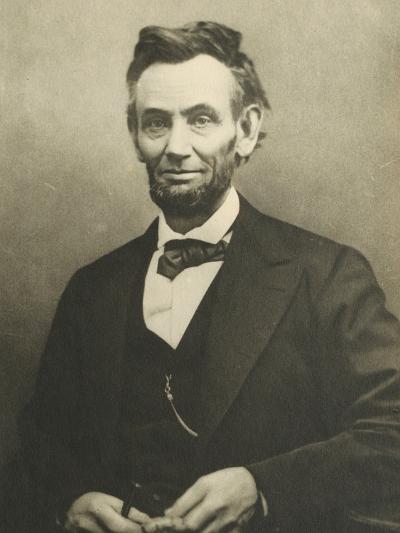 Abraham Lincoln by Alexander Gardner--Premium Photographic Print