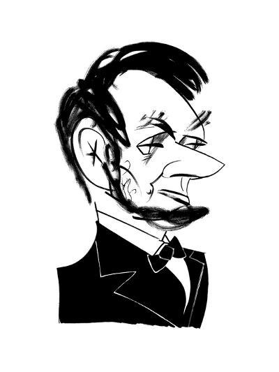 Abraham Lincoln Cartoon Premium Giclee Print By Tom Bachtell Art Com
