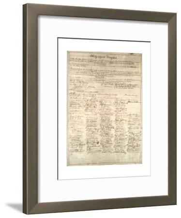 Congressional Copy of the Thirteenth Amendment Resolution, February 1 1865