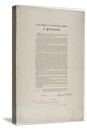 Emancipation Proclamation, 1863