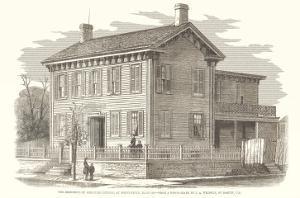 Abraham Lincoln House, Springfield, Illinois