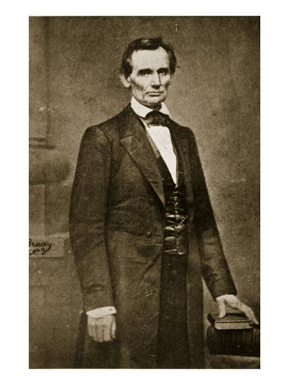 Abraham Lincoln, May 1860-Mathew Brady-Giclee Print