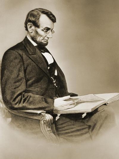 Abraham Lincoln--Giclee Print