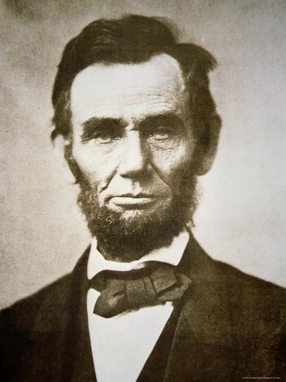 Abraham Lincoln-Alexander Gardner-Photographic Print