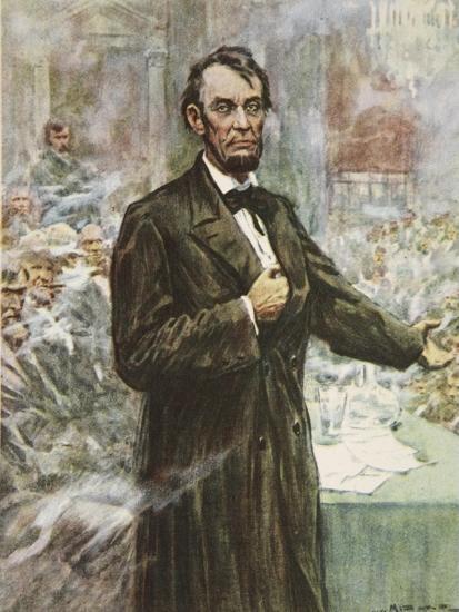Abraham Lincoln-Arthur C. Michael-Giclee Print