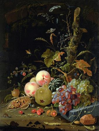 Still Life of a Forest Floor by Abraham Mignon