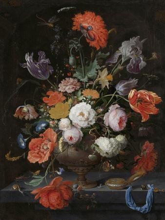 Still Life with Flowers and a Watch