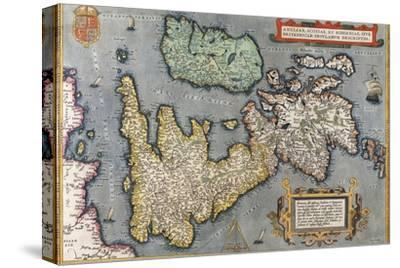 A Map of Great Britain, 1587