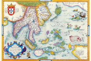 East Indies by Ortelius by Abraham Ortelius
