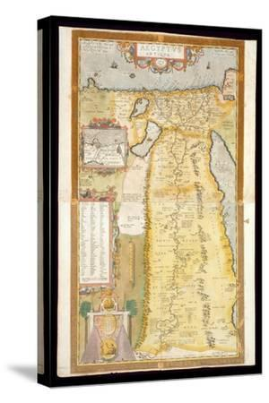 Map of Ancient Egypt, 1584