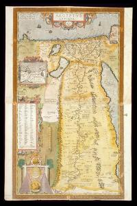 Map of Ancient Egypt, 1584 by Abraham Ortelius