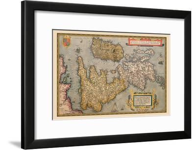 Map of Britian and Ireland