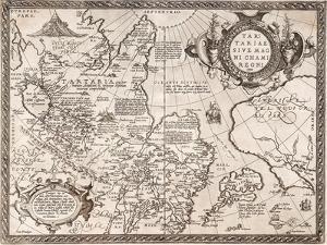 Map of Russia (From: Theatrum Orbis Terraru), 1598 by Abraham Ortelius
