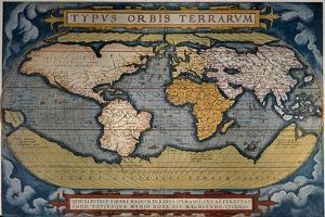 Planisphere by Abraham Ortelius