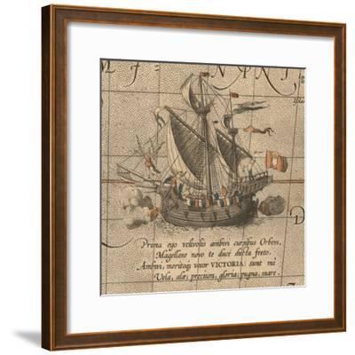The Victoria, a Spanish Carrack, Ship of Ferdinand Magellan?S Armada De Molucca