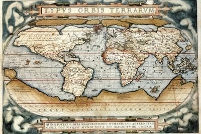 18x24 England Scotland /& Ireland 1570 Orbis Terrarum Historic Ortelius Map
