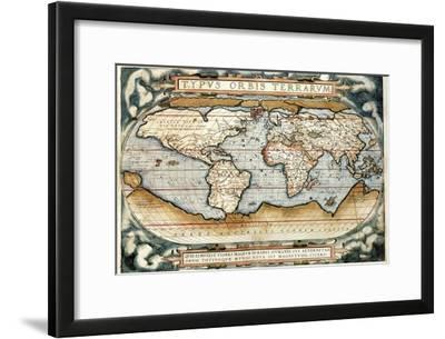 """""""Theatrum Orbis Terrarum"""" (Anntwerp, 1570)"""