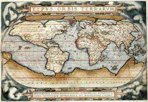 """Theatrum Orbis Terrarum"" (Anntwerp, 1570) by Abraham Ortelius"