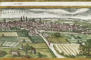 View of Valladolid by Abraham Ortelius