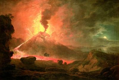 The Eruption of Vesuvius by Abraham Pether