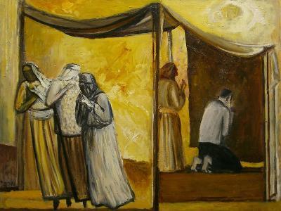 Abraham Praying-Richard Mcbee-Giclee Print