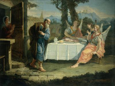 Abraham Receives Announcement of Birth of Isaac-Francesco Fontebasso-Giclee Print