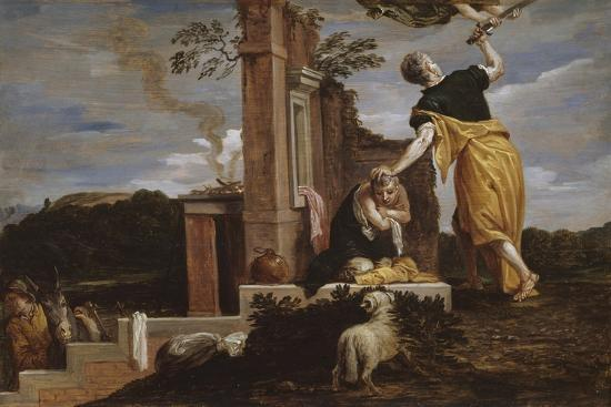 Abraham's Sacrifice of Isaac, 1654-56-David the Younger Teniers-Giclee Print