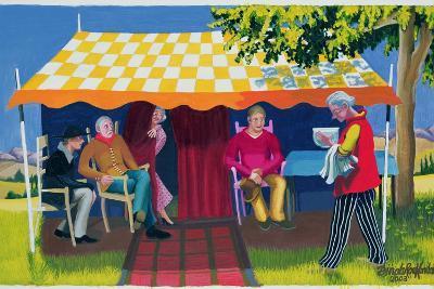Abraham's Three Visitors, 2003-Dinah Roe Kendall-Giclee Print