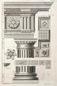 Column & Rosettes by Abraham Swan