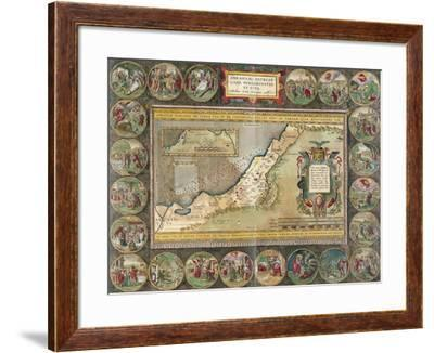 Abrahami Patriarchae Peregrinatio, Et Vita-Abraham Ortelius-Framed Giclee Print