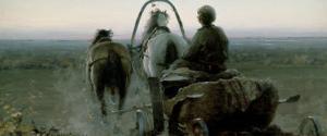 The Return Journey, 1896 by Abram Efimovich Arkhipov