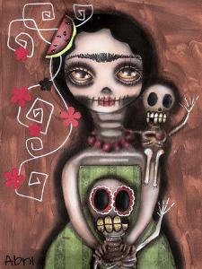 Frida Day of the Dead by Abril Andrade