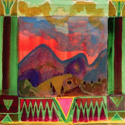 Abruzzi before Dusk-Michael Chase-Giclee Print