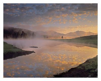Absaroka Range from Alum Creek, Yellowstone National Park, Wyoming-Tim Fitzharris-Art Print