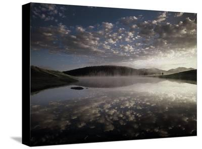 Absaroka Range from Yellowstone National Park, Wyoming-Tim Fitzharris-Stretched Canvas Print