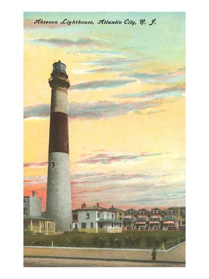 Absecon Lighthouse, Atlantic City, New Jersey Art Print by | the NEW ...