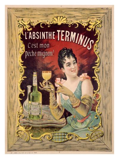 Absinthe Aperitif Liqueur--Giclee Print