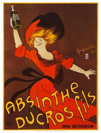 Absinthe Ducros Fils-Leonetto Cappiello-Art Print